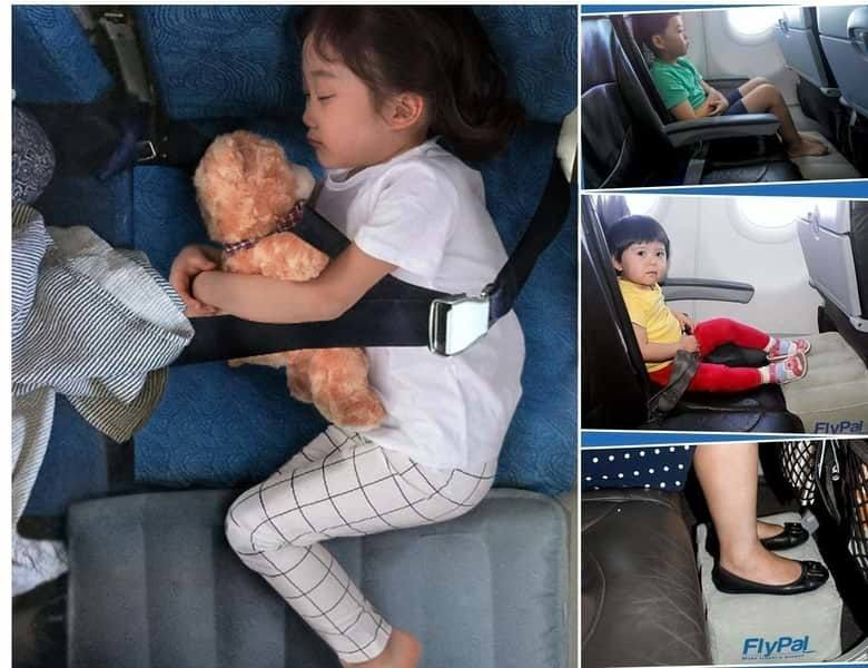 How to use flypal foot rest pillow