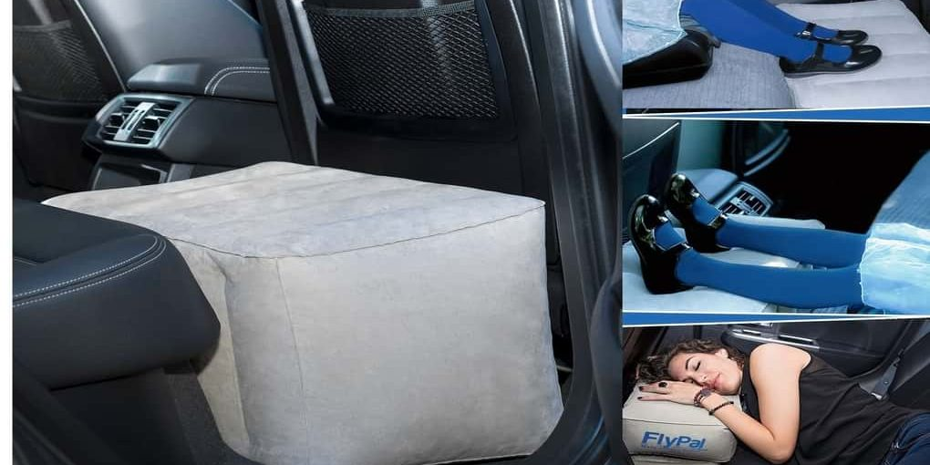 best inflatable foot rest pillow